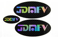 OIL SLICK - Customizable Emblem Overlays Front/Rear (10-12 LGT)