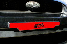 Six Star Alliance License Plate delete Vinyl Overlays