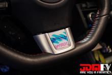 Jazz Collection Domed Steering Wheel Trim W/  WRX logo