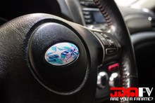 JAZZ EDITION - Steering Wheel Emblem Overlays  - WRX Logo