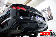 Smoked - Rear Bumper Marker Overlays (15+ Mustang)