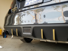 Rear Diffuser / Exhaust pin stripe (15-18+ WRX/STi)