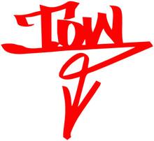 TOW Arrow Graffiti (DOWN)- DECAL