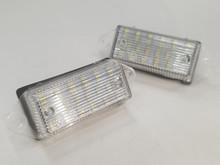 Xenon White High Power 18-SMD 3528 LED License Plate Lights - Lancer/EVO X
