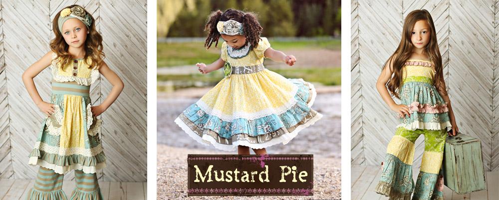 Mustard Pie Clothing Spring 2016