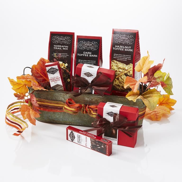 Fall Harvest Gift Basket