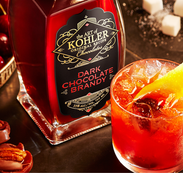 Kohler Dark Chocolate Brandy Old Fashioned