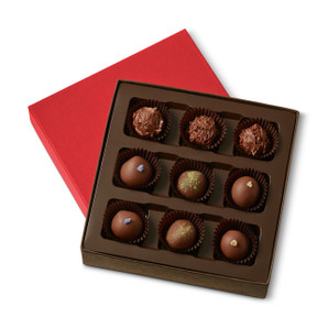 VARIETY BOTANICAL TRUFFLES Nine Pieces