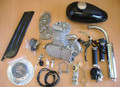 NEW 80cc Bicycle Engine Motor Kit Gas Motorized Bicycle 2-Stroke Silver T80 40+MPH!