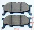 (#05) Brake Pads Pad Set 50cc-150cc 250cc ATV Rear Brakes 165