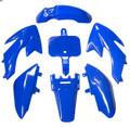 Body Plastic HONDA CRF50 -  BLUE DIRT BIKE FAIRINGS
