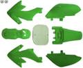 Body Plastic, CRF50, GREEN DIRT BIKE FAIRINGS