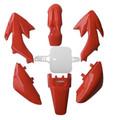 Body Plastic, CRF50, RED DIRT BIKE FAIRINGS