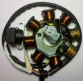 (#06) 8-Coil Magneto Stator GY6 50cc Scooter Moped Alternator