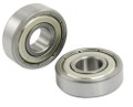 NEW 12mm x 28mm x 8mm 6001ZZ Shielded Deep Groove Radial Ball Bearing