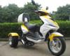 50cc - 3 Wheel Trike Moped - Ice Bear