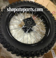 Wheel & Tire Combo - for 110cc 125cc 250cc Dirt Bikes 90X100-14 Dirt Bike Apollo Xtreme
