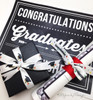 Set in combination with our congratulations ribbon, our grad hats will make the graduate feel more special!