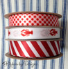 Combine our lobsters with stripes and gingham for a perfect Summer picnic look! Designed and printed in the USA