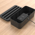 Orico Storage Box Organizer for Covering and Hiding Desktop Charger