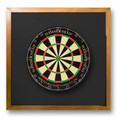 Backboard-Black (Dartboard NOT Included)