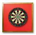 Backboard-Red (Dartboard NOT Included)