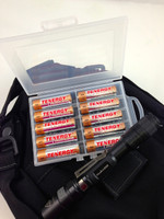 Battery Storage Case for 10 AA or AAA Batteries