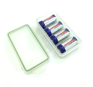 Waterproof Battery Holder with 4 Batteries