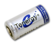 Tenergy 30201 RCR123A 3.0V 900mAh Rechargeable Li-Ion Battery
