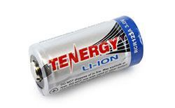 Tenergy RCR123A 3.0V 600mAh Li-Ion Rechargeable Battery