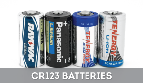 CR123 Batteries