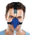SleepWeaver Advance Soft Cloth Nasal CPAP Mask & Headgear