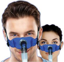 SleepWeaver Elan Soft Cloth Nasal CPAP Mask STARTER KIT BLUE