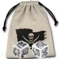 Pirate Dice (2) & Bag