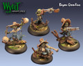 Bayou Gremlins (4 & Accessories)