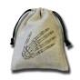 Skeleton Hand Dice Bag