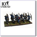 Kings Of War Undead Skeleton Archers Troop (10)