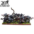 Kings Of War Undead Ghoul Regiment With Ghast