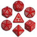 Red And White Elvish Dice