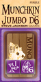 Munchkin 25Mmd6 Purple Jumbo Dice (2)