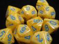Vortex Poly D10 Yellow/Blue (10)