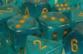Borealis 2 16Mm D6 Teal/Gold (12)