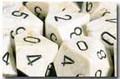 Dm4 Marble 12Mm D6 Ivory/Black (36)