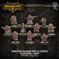 Khador Winter Guard Rifle Corps