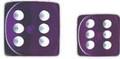 12Mm D6 Purple Wht