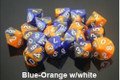 Gemini 6 Poly Blue Orange White
