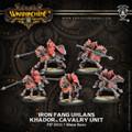 Iron Fang Uhlans Calvary Unit Warmachine