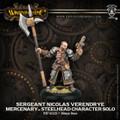 Warmachine Mercenaries Sargent Nicolas Verendrye