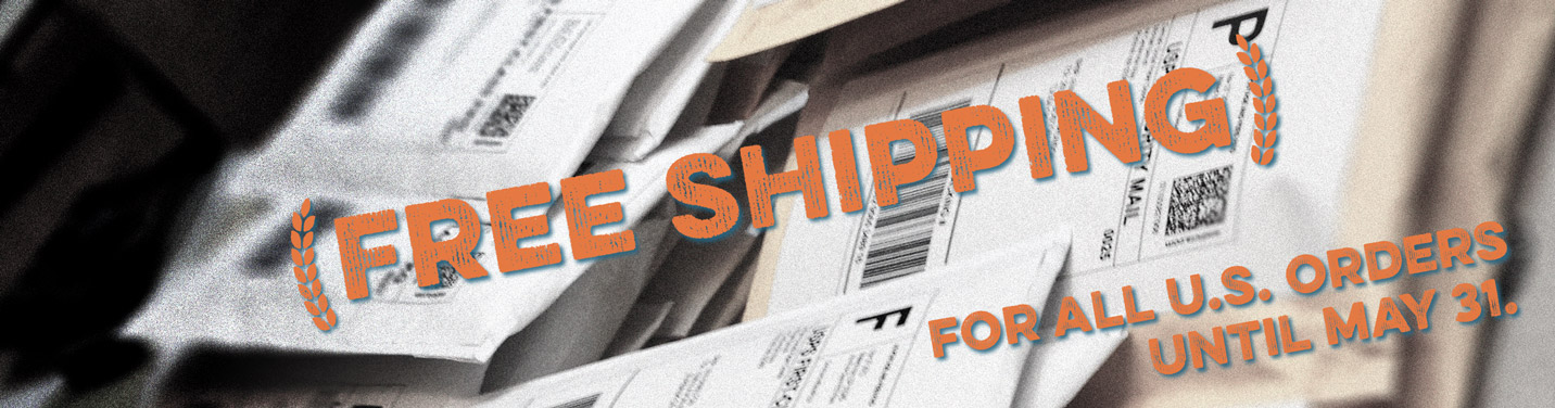 Free Shipping until May 31