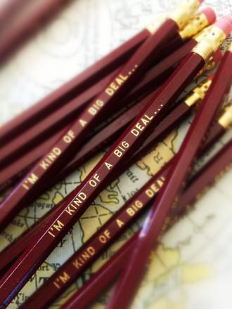 I'm Kind of a Big Deal Pencil 6 Pack